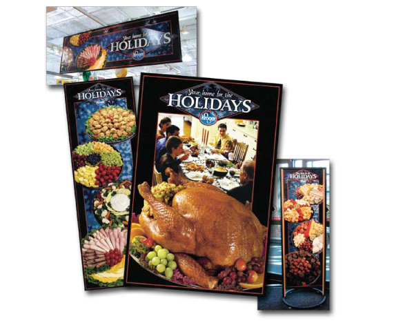 Kroger Holiday Point of Sale